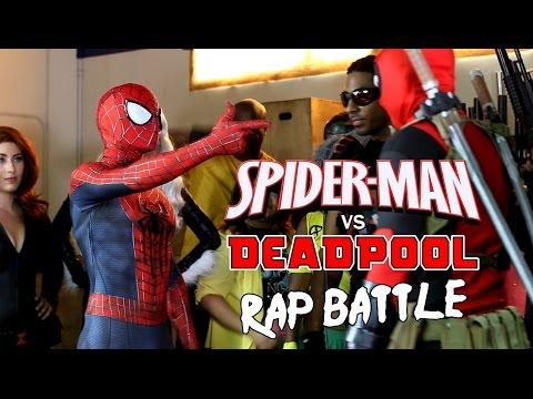 Spider-Man vs Deadpool - Rap Battle