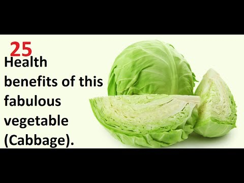 25 Health benefits of this fabulous vegetable (Cabbage)