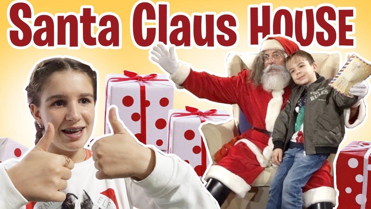 El Autentico Papa Noel En Su Casa Youtube