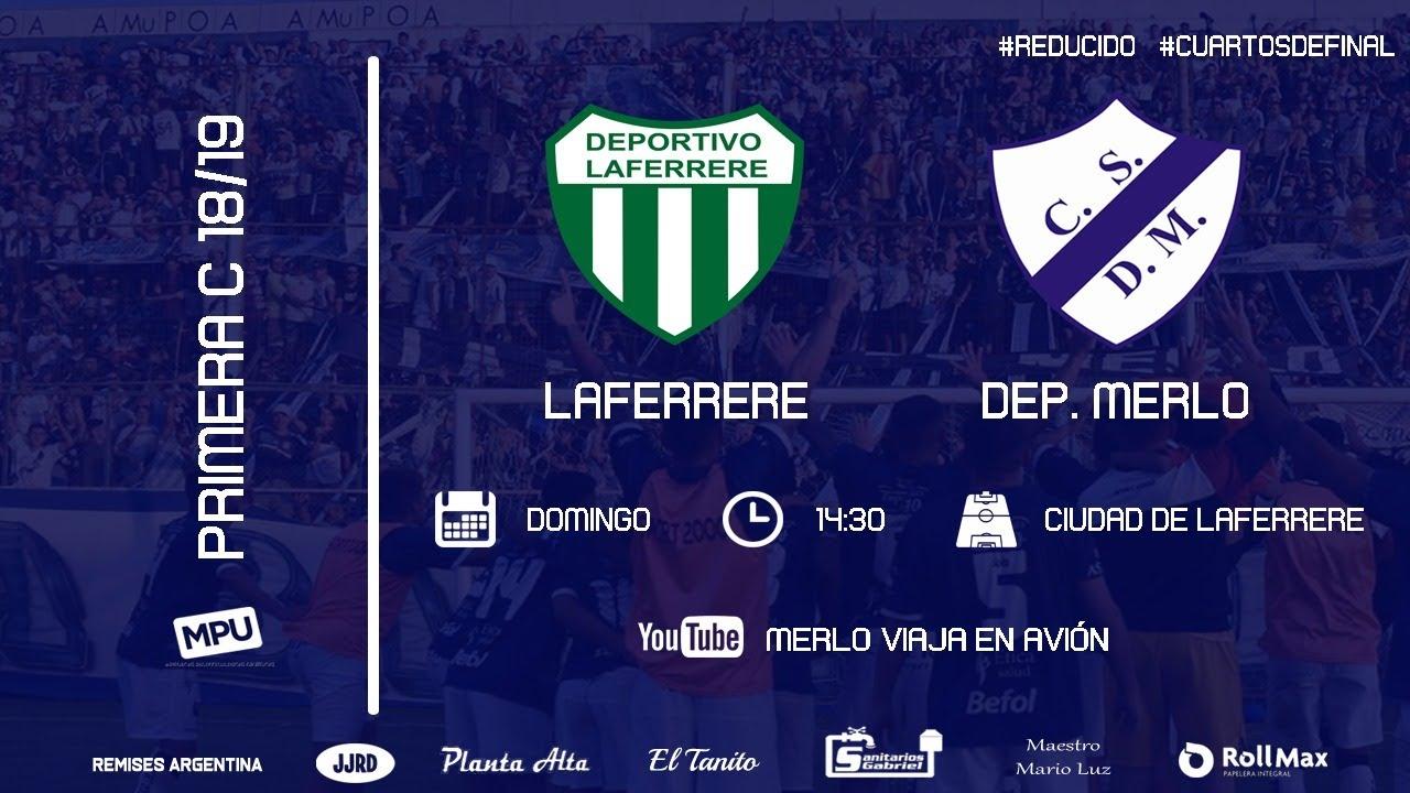 EN VIVO | Laferrere vs Deportivo Merlo - Primera C - Reducido - 4tos de  final - YouTube