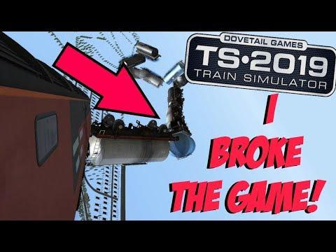 Train Simulator 2019 - Crash Compilation #2 |