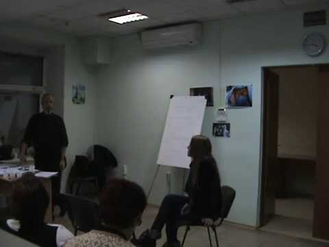 PTSD Therapy Lectures in Dnipropetrovsk Ukraine March 2015 Part 33