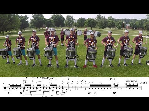 "2018 Cadets Snares - LEARN THE MUSIC to ""Demonic Thesis"""