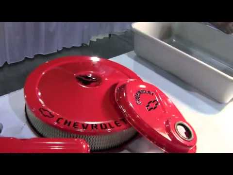Chevy Red Orange Engine Paint