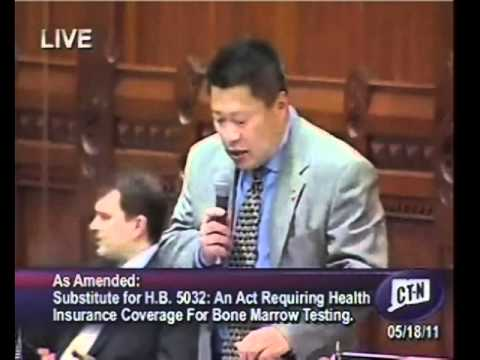 Fairfield State Rep. Tony Hwang recently co-hosted the second annual Bone Marrow Drive at the state capitol.