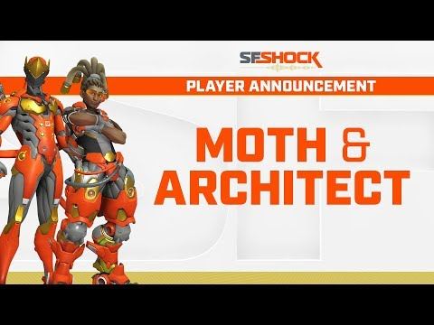 SF Shock Roster Announcement - Moth and Architect