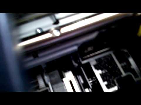 Resolvendo Problema de Carro Preso Na Impressora HP 8600