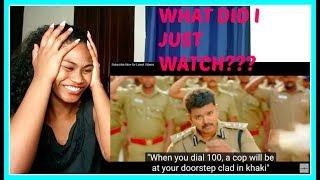 #Kollywood Theri Songs   Jithu Jilladi Official Video Song   Reaction