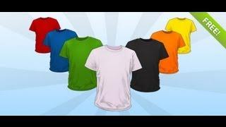 Hacer Camisas Con Tu Diseño (PSD)