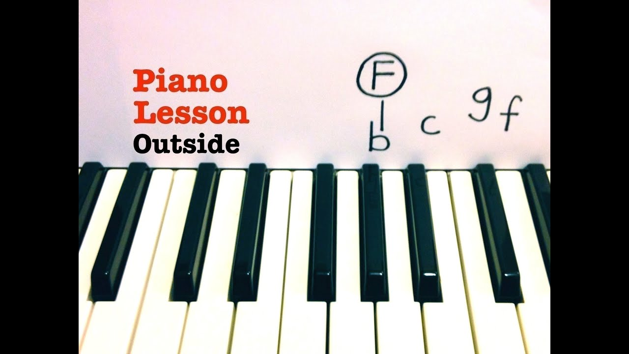 Outside piano lesson tutorial calvin harris ft ellie outside piano lesson tutorial calvin harris ft ellie goulding hexwebz Image collections