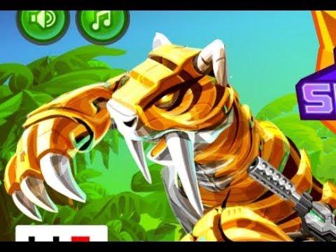 Cyber Smilodon Assembling (Роботы динозавры: Кибер смилодон)