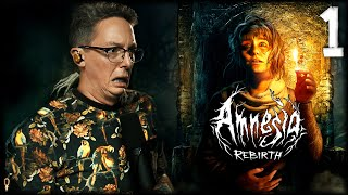 😱 What is TRUE HORROR? - Amnesia: Rebirth Let's Play - Part 1