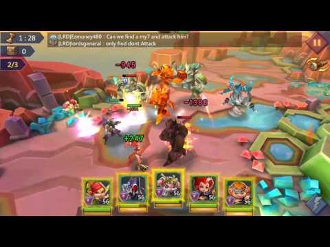 Lords Mobile Elite 6-12 F2p Unlocking Rose Knight!!!