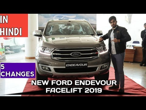 NEW FORD ENDEAVOUR FACELIFT | 5 MAJOR CHANGES | WALKAROUND