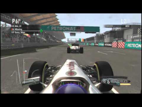 F1 2011 F365 Championship Season 1 - Kuala Lumpur