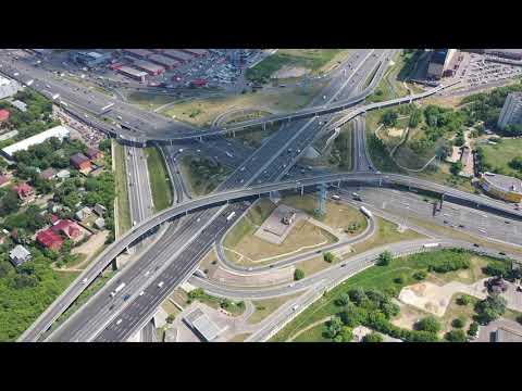 МКАД   Ярославское шоссе с высоты