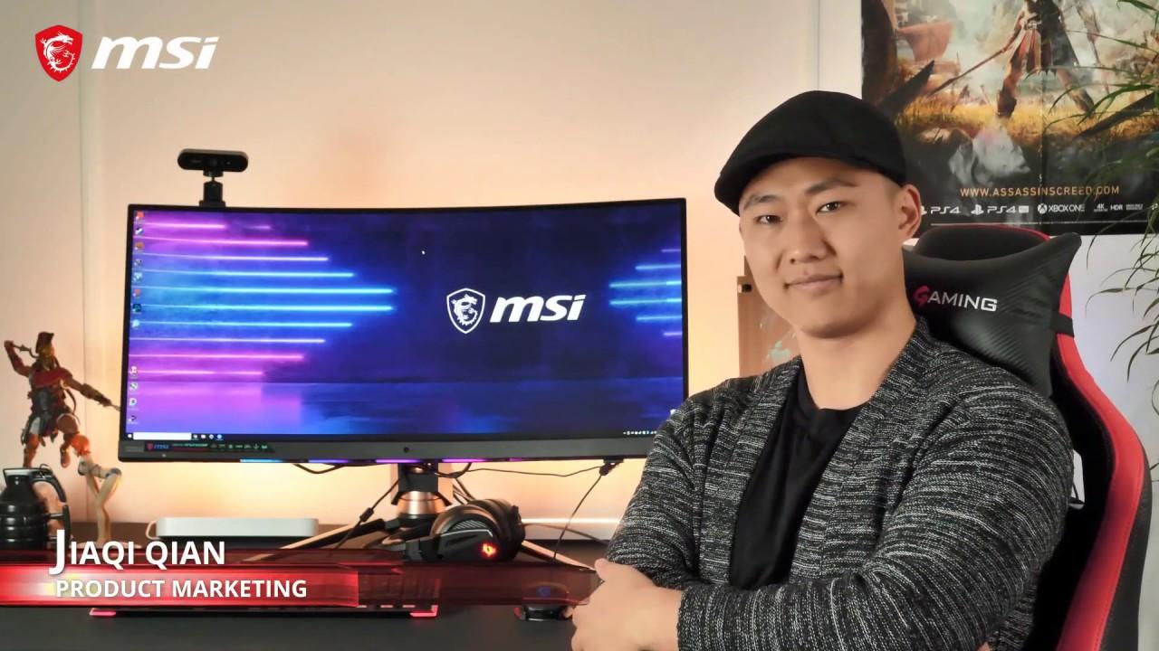 Pierwszy monitor MSI z Smart Camera - Optix MPG341CQR