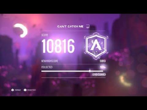 AVICII Invector: cant catch me (A rank easy) 10816 score gameplay walkthrough |
