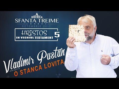 Vladimir Pustan -despre- O Stâncă lovită • Biserica Sfânta Treime - Londra • Octombrie 2017