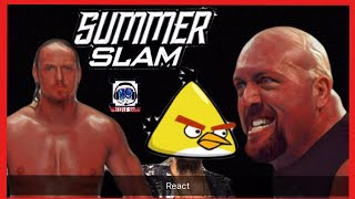 Big Cass Vs. Big Show ... and the Caged bird Enzo' : wrestle shade : Summer Slam  2017