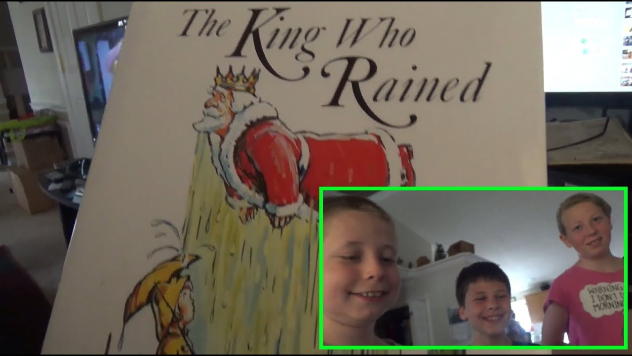 Reading a childhood favorite book the king who rained youtube reading a childhood favorite book the king who rained fandeluxe Image collections