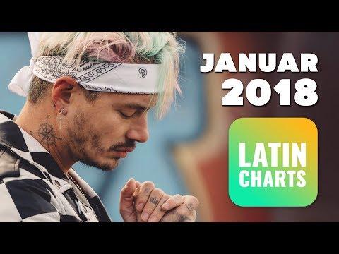 Top 10 • Latin/Reggaeton Songs • Januar 2018 | Latin Charts