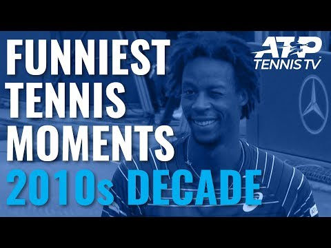 Funniest ATP Tennis Moments in 2010s Decade!