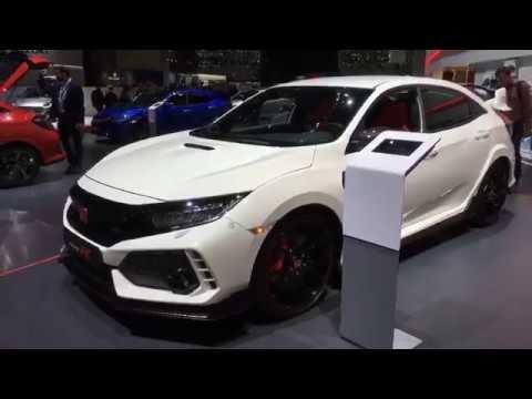 2017 geneva auto show 2017 honda civic type r youtube rh youtube com