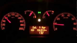 2006 Fiat Doblo 1.3 Multijet 16V 0-100 km/h acceleration Full HD