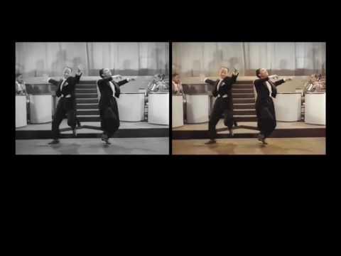 Jumpin Jive - Cab Calloway and the Nicholas Brothers - Automatic Image Colorization