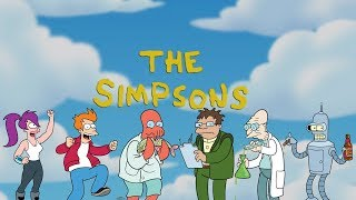 Futurama References in The Simpsons (UPDATED)