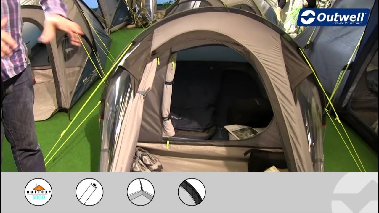 & Outwell Tent Earth 2 - 2015   Innovative Family Camping - YouTube