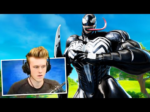Stream Sniping A FAMOUS YOUTUBER With The VENOM SKIN And This Happened...