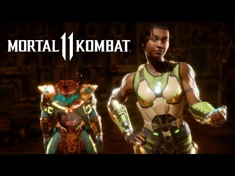 Mortal Kombat 11 – Official Kotal Kahn And Jacqui Briggs Reveal Trailer