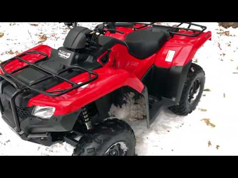 2017 HONDA RANCHER 420 FIRST RIDE. IS IT WORTH IT!?!?