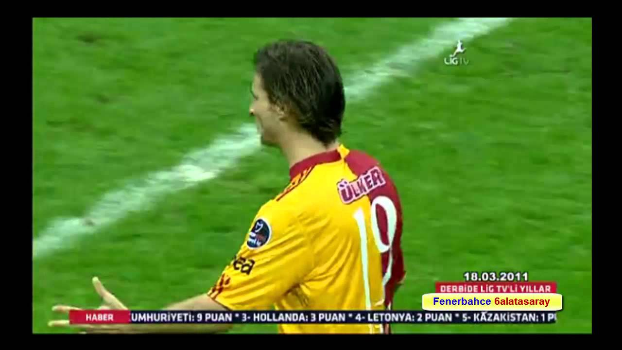 Galatasaray 1-2 Fenerbahce 18-3-2011