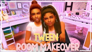 The Sims 4 🎵 Lyric to Riches 🎵 TWEEN ROOM MAKEOVER