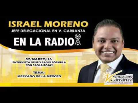 07MZO16. ENTREVISTA SOBRE MERCADO LA MERCED, RADIO FÓRMULA CON PAOLA ROJAS