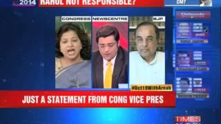 Congress decimated & Rahul Gandhi silent