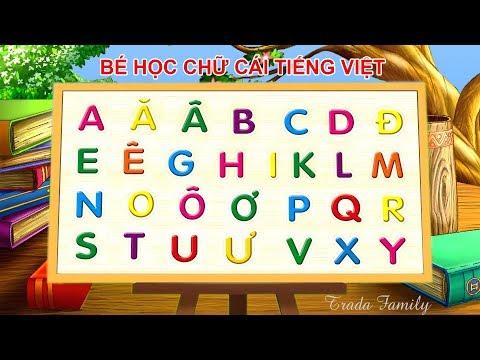 Học Và Tập Đọc Bảng Chữ Cái Tiếng Việt