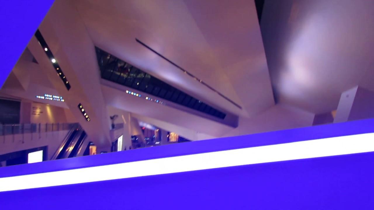 Peek A Boo Vegas! Aria Crystals Shops Tram Overlook