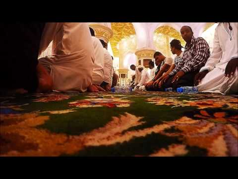 SHEIKH ZAYED MOSQUE - TARAWEEH PRAYER - BEAUTIFUL QURAN RECITATION