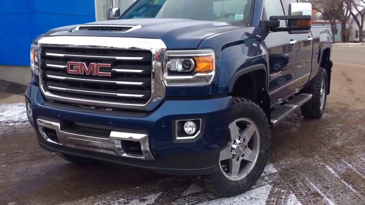 Custom 2017 Gmc Sierra 2500 Standard Box Crew Cab With H D Trailering And Much More