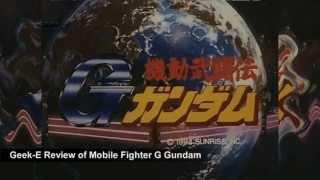 Mobile Fighter G Gundam Review