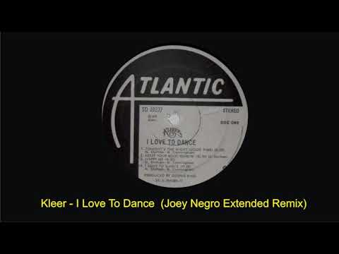 Kleeer   I Love To Dance Joey Negro Extended Disco Mix