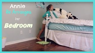 Annie Re Arranges Her Room