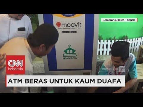 ATM Beras untuk Kaum Duafa