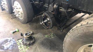 Sunday fun day  fix the wheel seal