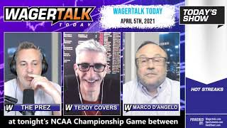 Daily Free Sports Picks | Gonzaga vs Baylor Picks and Masters Preview on WagerTalk Today | April 5
