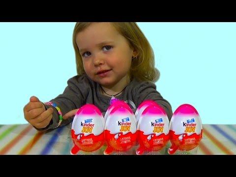 Принцессы Дисней Киндер обзор игрушек
